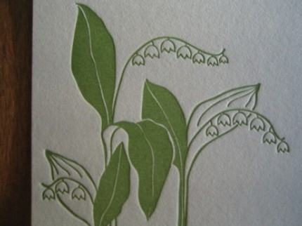 Satsuma Press Lily of Valley