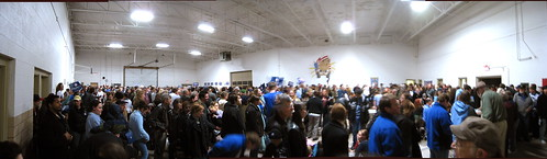 Panorama of our caucus site