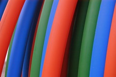 colorful conduit