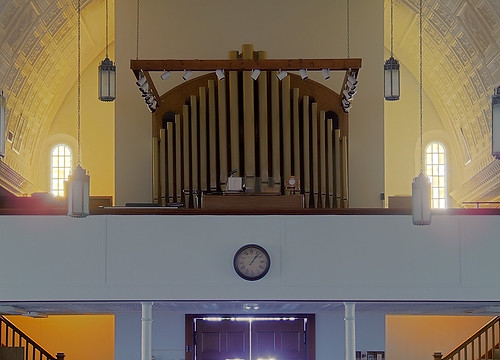 Saint Joseph Roman Catholic Church, in Bonne Terre, Missouri, USA - pipe organ