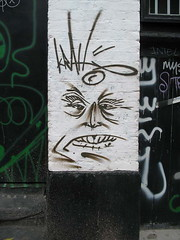 the krah (_Kriebel_) Tags: street london pasteup art up print poster graffiti stencil sticker paste 101 crew april 2008 5th kriebel weath krah 101crew weathpaste