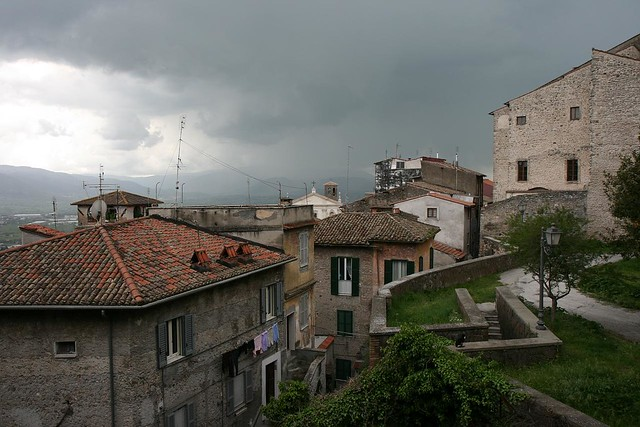 stormy skies over anagni