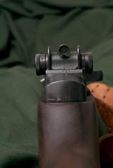 rifles guns firearms ironsights