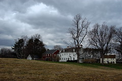 """The Paine House and Greenwood Farm over darkening skies • <a style=""""font-size:0.8em;"""" href=""""https://www.flickr.com/photos/7358896@N06/2434861631/"""" target=""""_blank"""">View on Flickr</a>"""