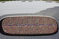 FC Bayern Munich fans (Aerial Photography) Tags: people game by germany munich bavaria football stadium soccer aerial m fans allianzarena obb 1bundesliga probek munichfröttmaning 27042008 1ds03142 germanfootballchampionship