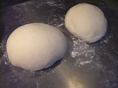 french bread boule fresh baked