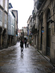 "Rainy Streets of Santiago de Compestella • <a style=""font-size:0.8em;"" href=""http://www.flickr.com/photos/48277923@N00/2625719381/"" target=""_blank"">View on Flickr</a>"