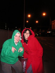 Red Riding and Dinosaur in the Hood