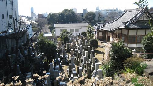 Japanese Graveyards