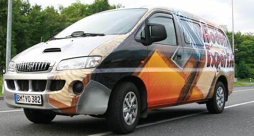 Fahrzeug Lackierung/ Themenbild/ Auftragskunst