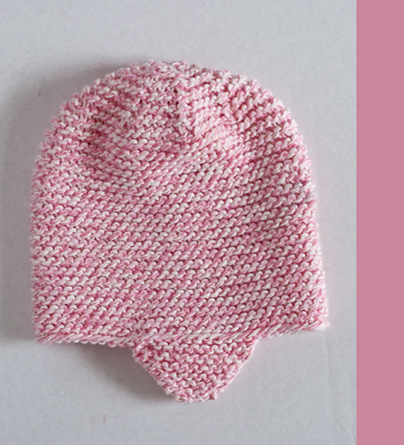 Knitted Newborn Hat Girl