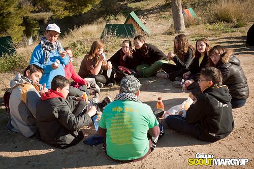 Acampada en Jumilla 2011