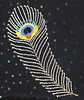 "Almofada ""Pavão"" (Márcia Valle) Tags: flowers brazil flores art brasil artist handmade feather mg pena pluma bags cushion seda bolsas almofada artista pavão bordado cojín juizdefora broderie handstitch brilhos paetês silkbags bijoubox arteaplicada márciavalle linhaseagulhas estilistamineira"