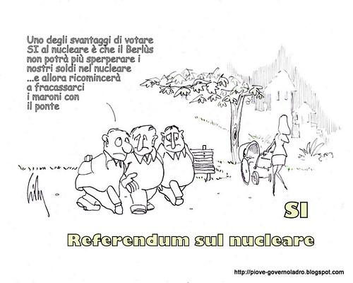 Il pericolo di votare SI al referendum sul nucleare by Livio Bonino