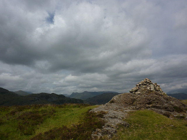 The summit of Holme Fell