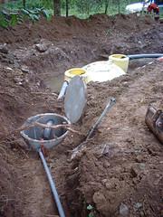 Fosse pump chamber