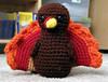 Finished Thanksgiving Turkey (*Gossy*) Tags: turkey crochet craft yarn crafty amigurumi finishedobject thanksgivingturkey crochetturkey