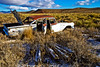 wreck (Sam Scholes) Tags: classic abandoned field car digital rural decay nevada rusted ghosttown damaged currie ruined d80
