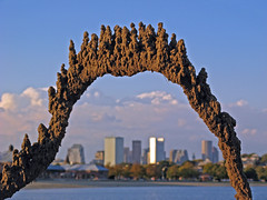 sandcastle above the city (sandcastlematt) Tags: sculpture castle beach boston skyline sand skyscrapers sandcastle sandsculpture dorchester bostonist dripcastle carsonbeach universalhub guesswhereboston foundinboston dripsculpture