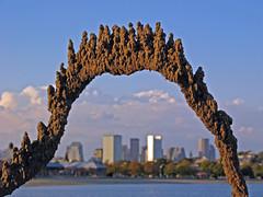 sandcastle above the city (sandcastlematt) Tags: sculpture castle beach boston skyline sand skyscrapers sandcastle sandsculpture dorchester bostonist dripcastle carsonbeach universalhub guesswhereboston foundinboston dripsculpture