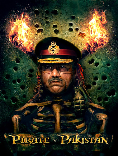 Pirate Pervez Musharraf