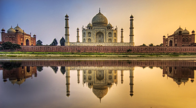 Trey Ratcliff - Farewell India - The Taj Mahal