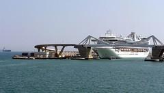 Barcelona - Port Porta d'Europa 02 (Arnim Schulz) Tags: barcelona españa port puerto spain catalonia porto catalunya hafen espagne cataluña spanien katalonien catalogne