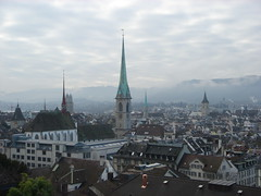 view of Zurich (keivi) Tags: switzerland zurich eth polyterasse