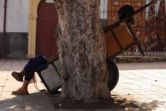 foto carro piedi sonno marocco