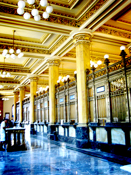 Palacio Postal in Mexico City