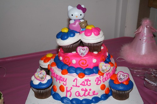 Hello Kitty Pictures Birthday. her Hello Kitty cake :)