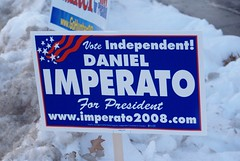 Daniel Imperato, Independent for President