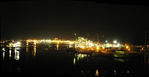 Pascagoula shipyards, Mississippi, USA
