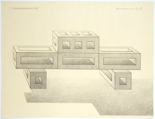 Anton van Dalen Automobile Drawing No.22  1972