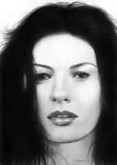 Zeta Jones 02 (pbradyart) Tags: portrait bw celebrity art pencil movie star sketch artwork drawing catherinezetajones goldenglobe 25faves impressedbeauty megashot betterthangood flickrestrellas