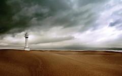 FANGAR (enric sirera) Tags: storm color colors atardecer bravo enric panoramica nubes catalunya highfive platja limage supershot abeauty mywinners