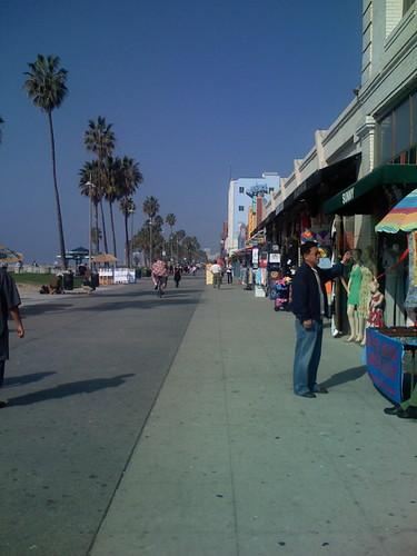 Boardwalk on Thanksgiving morning