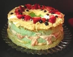 Leprachaun Surprise Angel Food Cake