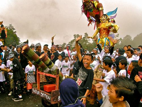 Nyepi (New Years) Eve Festivities