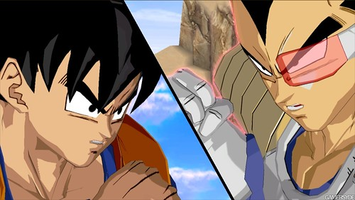 Dragon Ball Z Burst Limit Goku vs Vegeta