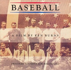 Baseball: A Film By Ken Burns soundtrack [CD cover] (1994)