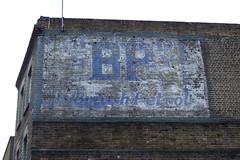 BP (blech) Tags: blue white brick london advert bp fadedsignage farringdonroad britishpetrol exif:flash=flashdidnotfire exif:iso_speed=200 exif:focal_length=122mm exif:aperture=f34 exif:exposure=0005sec1220 exif:exposure_bias=33100ev camera:make=fujifilm camera:model=finepixf30 meta:exif=1207954073 traveltransportvehicles ga00148
