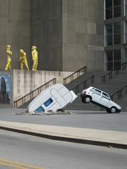 """Short cut"", Elmgreen & Dragset (LaJuanjita) Tags: chicago art museum contemporaryart contemporary shortcut elmgreen dragset elmgreendragset lajuanjita"
