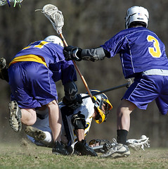 Boys HS LAX. April 2008