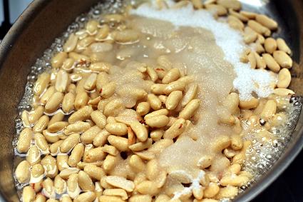 pre-candied peanuts