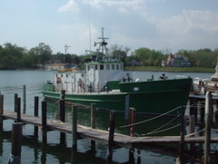 U.S. Army T-Boat (Trader Doc) Tags: fujifilm doc trader midatlantic irvingtonva chesapeakebayarea northernneckvairvington vamidatlanticwaterviews traderdoc