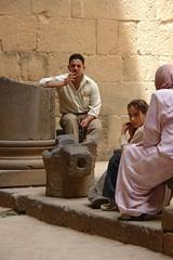 Family amongst the ruins (CharlesFred) Tags: peace syria hospitality siria honour  syrien syrie bosra suriye  syrianarabrepublic    bosrasham shoufsyria    welovesyria aljumhriyyahalarabiyyahassriyyah siri