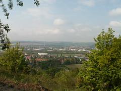 Aussicht über das Elbtal bei Coswig