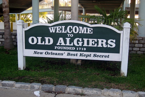 New Orleans - Algiers: Welcome to Old Algiers