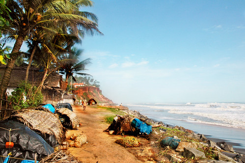 Varkala on a Summer Day !